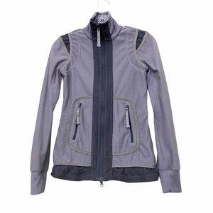 Stella McCartney x Adidas Grey Zipup Jacket